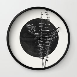 Nature Circle Art Wall Clock