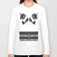 doom Long Sleeve T-shirts featuring DOOM by Ichsjah