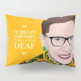 Deaf RBG Pillow Sham