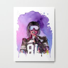 WTF Missy Elliott Metal Print