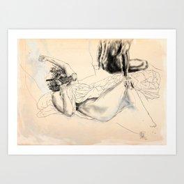 """The End Is Nigh..."" Woman|HOOD #3 Art Print"
