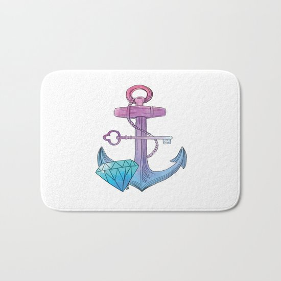 Sailor Treasures Bath Mat
