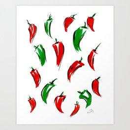 Peppers I Art Print