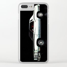 1976 Chevrolet Monte Carlo Clear iPhone Case