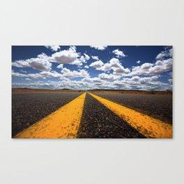 Double Yellow Canvas Print