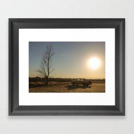 Dusk in California Framed Art Print