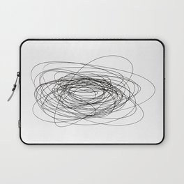 scrawl abstract drawing Laptop Sleeve