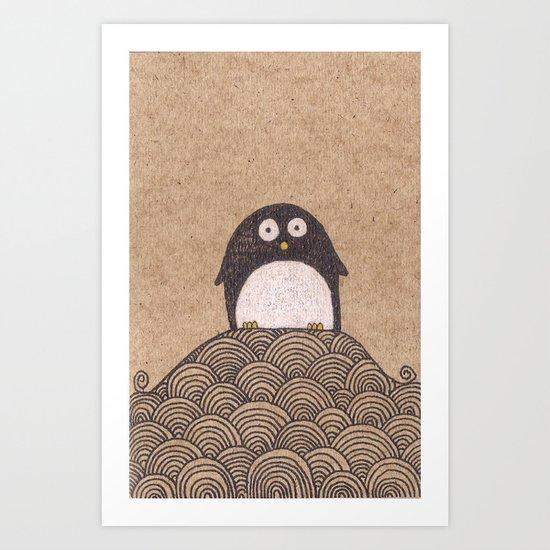 Chief Squeaker Art Print