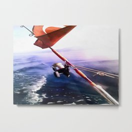It's Reel - Gone Fishing Metal Print