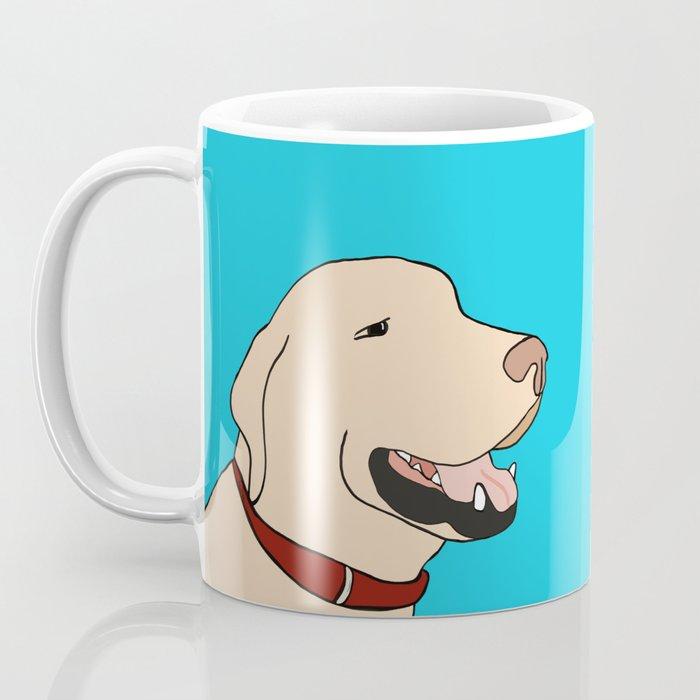 Sage A Yellow Labrador Coffee Mug
