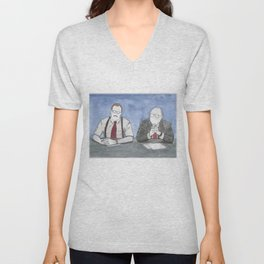 """Office Space - """"The Bobs"""" Unisex V-Neck"""