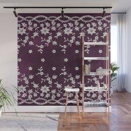 Purple Rose 1 Wall Mural