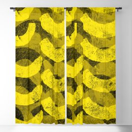 Curves in Yellow Blackout Curtain