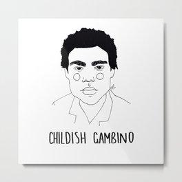 Childish Gambino Metal Print