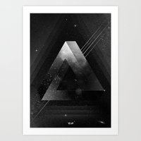 triangle Art Prints featuring Triangle by Guilherme Rosa // Velvia