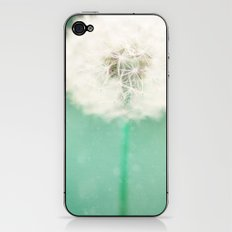 Dandelion Seed iPhone & iPod Skin