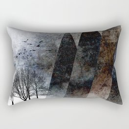 TREES under MAGIC MOUNTAINS VIII-c Rectangular Pillow