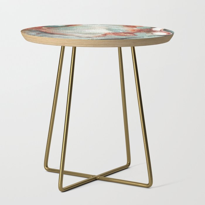 Jade Stone Side Table By Shealeenlouise Society6