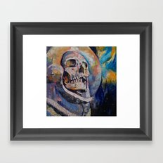 Stardust Astronaut Framed Art Print