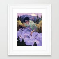 passion Framed Art Prints featuring Passion by James M. Fenner