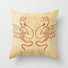 Weird Creatures Throw Pillow