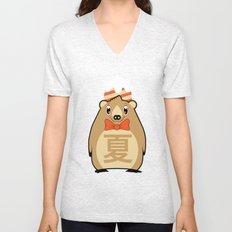 Natsu - Season bear Summer Unisex V-Neck