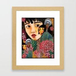 Eurydice Goes to Hadestown Framed Art Print