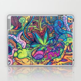 Trippy Weed Laptop & iPad Skin