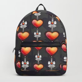 Love Hearts Valentine Backpack