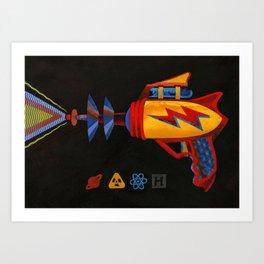 Cosmic Blaster Art Print