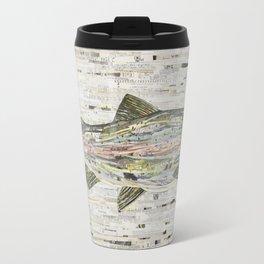 Rainbow Trout Collage (v2) by C.E. White Travel Mug