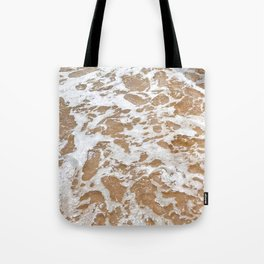 Soft Waves Over Sand Tote Bag