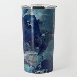 Blue Marble Texture Travel Mug