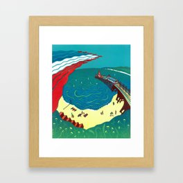 Red Arrows, Bournemouth Framed Art Print