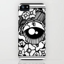 ojo japones iPhone Case