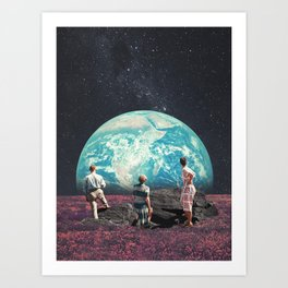 Don't Worry, the Kids will be Alright Art Print