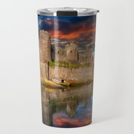 Conwy Castle Sunset Travel Mug