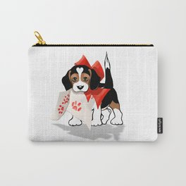 The Love Puppy—Love Letter Carry-All Pouch