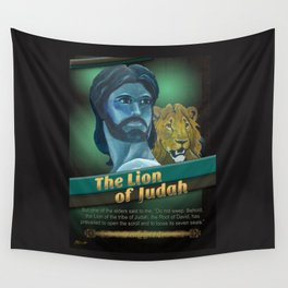 The Lion Of Judah 1 Wall Tapestry