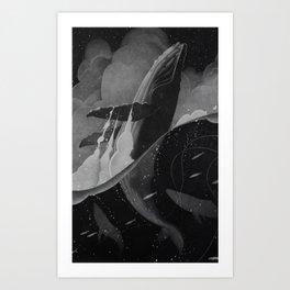 Breach Art Print