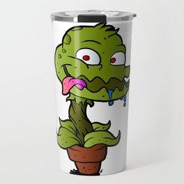 Carnivorous plant. Travel Mug
