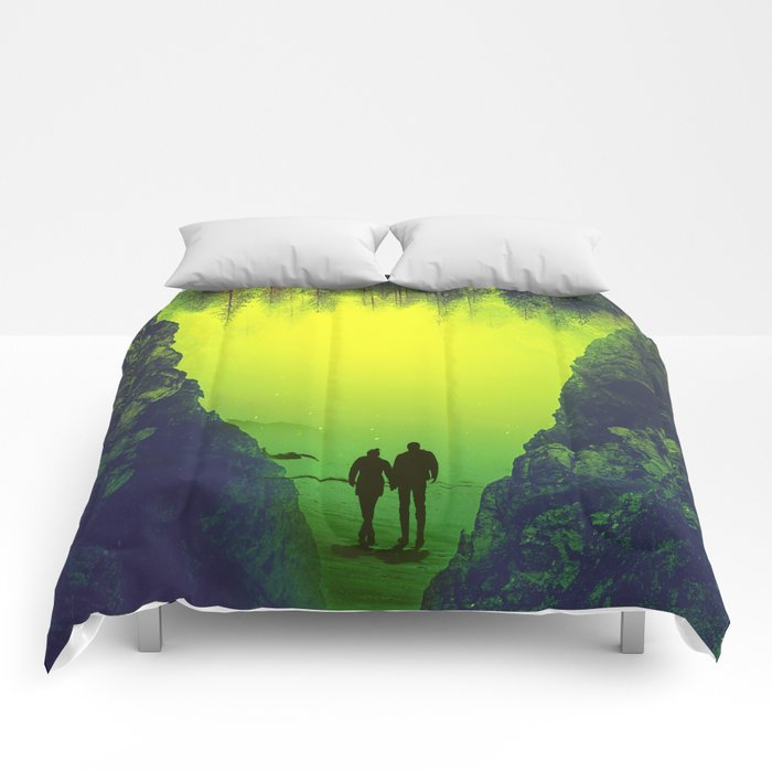 Toxic Forestry Together Comforters