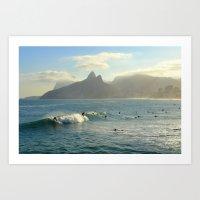 rio de janeiro Art Prints featuring Rio de Janeiro by Thierry