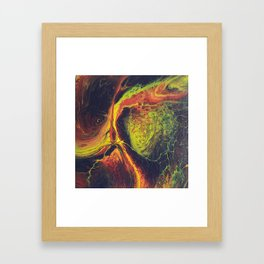 Сosmic whirlwind Framed Art Print