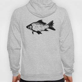 Black Fish Hoody