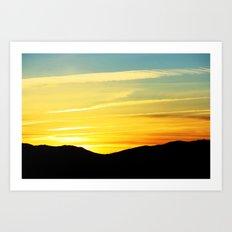 Reno Sunrise Art Print