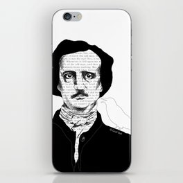 Persistence of Poe iPhone Skin