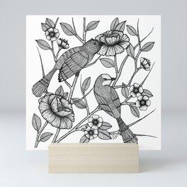 Love Birds Mini Art Print