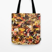 circus Tote Bags featuring Circus by Kerri Swayze