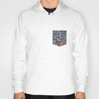 stained glass Hoodies featuring stained glass by spinL